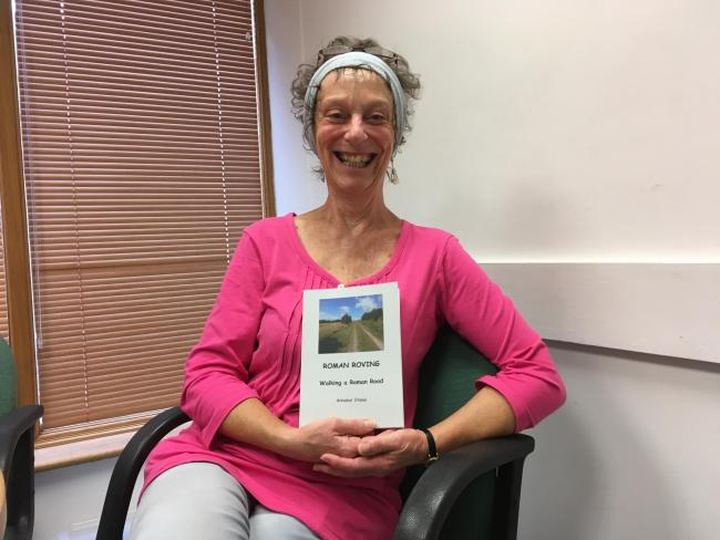 Author's walking book inspired by Roman roads adventure