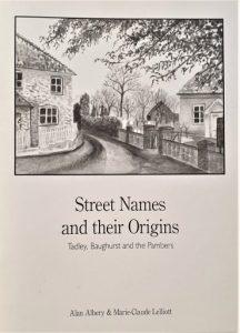 Street Names and their Origins