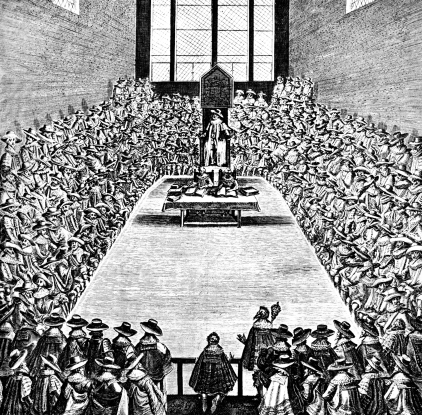 Parliament in Session in the Reign of James I, early 17th century c1902-1905