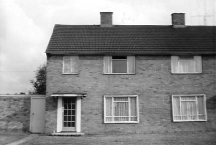 Barry Howard's 24 Huntsmore road 1955